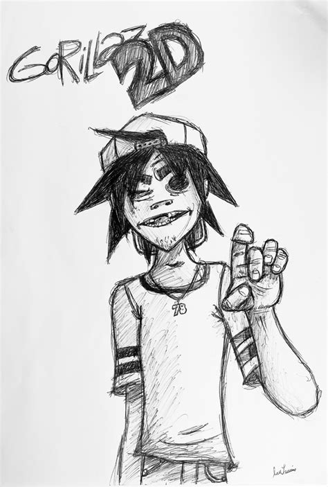 How To Draw Yourself As A Gorillaz Character