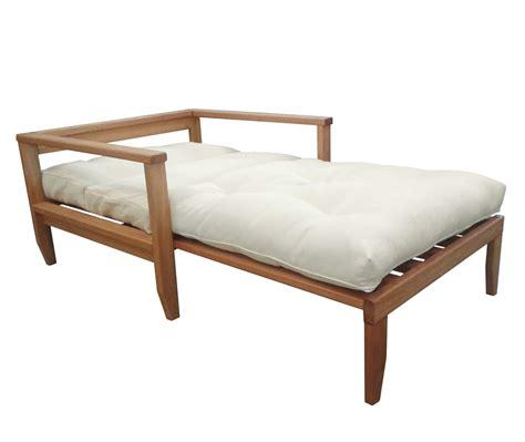 poltrona futon poltrona letto in legno artigianale futon edera vivere zen