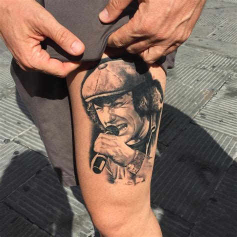 brian johnson portrait tattoo best tattoo ideas gallery