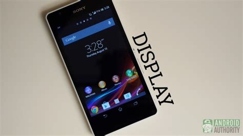 Hp Android Sony Xperia Zr sony xperia zr review android authority