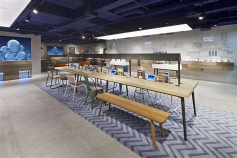 interior design store uk o2 launches store concept design week