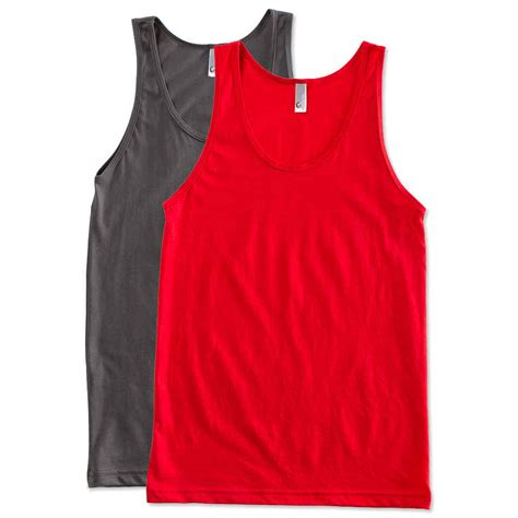 Tank Tops custom american apparel 50 50 tank design tank tops