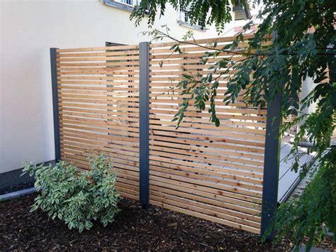 terrasse zaun modern 1000 ideen zu sichtschutzzaun auf sichtschutz