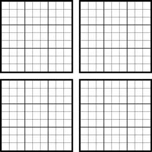 Empty Grid Search Results For Sudoku Blank Page To Print Calendar