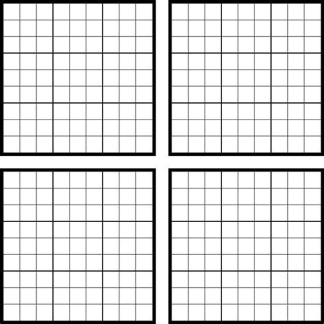 sudoku template search results for sudoku blank page to print calendar
