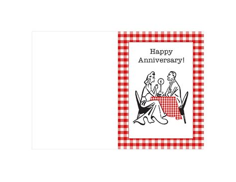 anniversary card template most printable anniversary card templates for