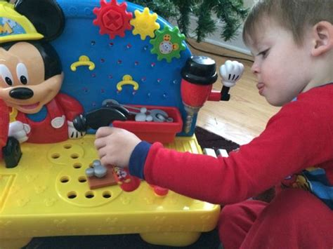 mickey mouse clubhouse work bench just play disney mickey mouse clubhouse handy helper