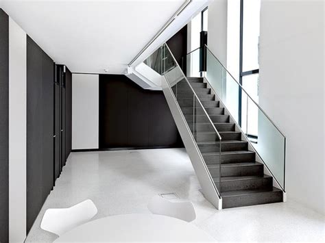 office stairs design bene showroom by solid architecture showrooms