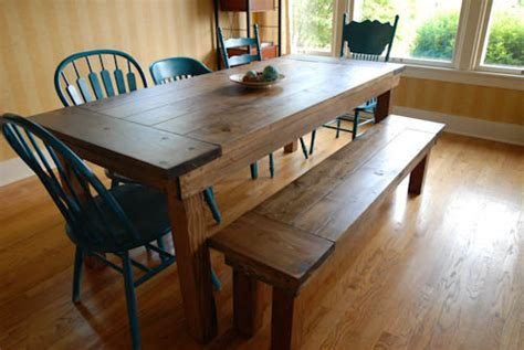 diy bench for a farmhouse table home and diy