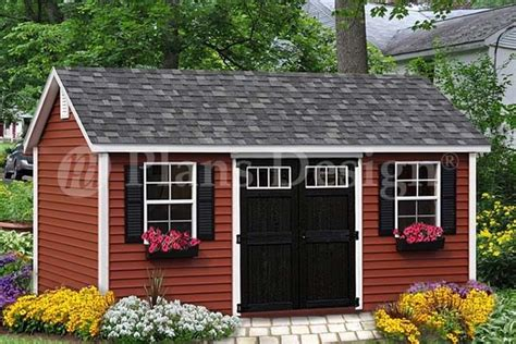 shed plans playhouse    gable roof design