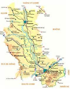 Plan42 Carte Plan Du Departement De La Loire 42