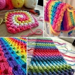 diy crochet puff stitch blanket pattern