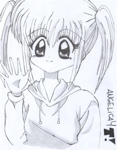imagenes para dibujar anime dibujos de anime hechos por mi arte taringa