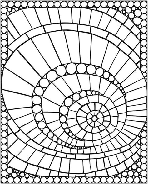 mosaic patterns coloring pages coloring pages mosaic patterns beginner coloring pages
