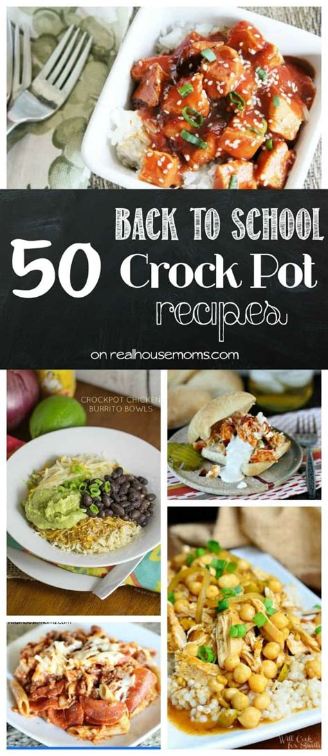 50 back to school crock pot dinner recipes real housemoms