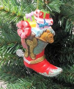 studio 56 collectibles cowboy boot ornament western cowboy boot with gifts ornament item 147058 the mouse