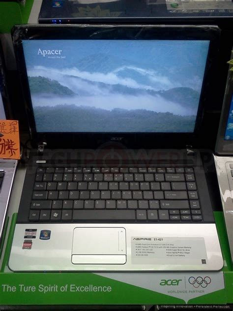Laptop Acer Aspire E1 421 E302g32mn brazos 2 0 acer aspire e1 421 pictured
