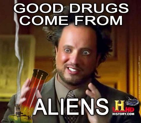 Alien Meme Guy - image 207530 ancient aliens know your meme
