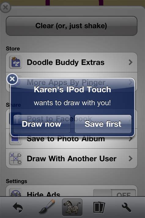 how to draw with friends on doodle buddy quickadvice doodle buddy premium draw with your friends