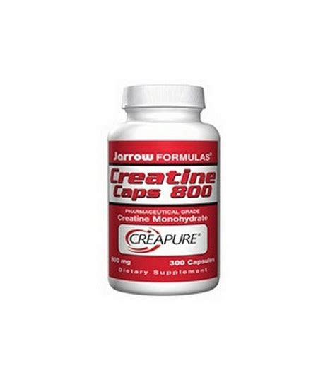 creatine jarrow jarrow formulas creatine 800 mg 300 capsules
