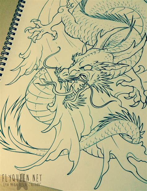 tattoo dragon water asian water dragon tattoo by flyqueen on deviantart