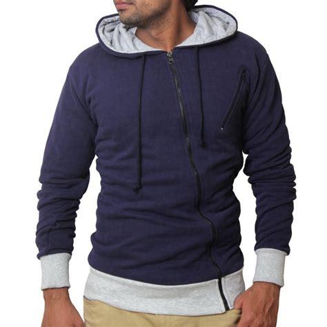 Hoodie Zipper Navy Blue warp zipper navy blue pullover hoodie
