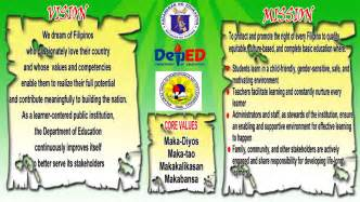 deped mission vision core values google search memar