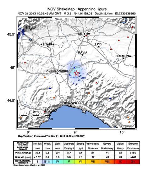terremoto pavia oggi terremoto meteo web meteo web