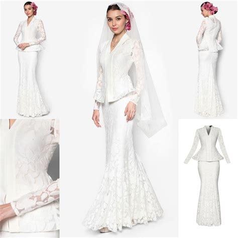 Zalora Baju Putih 93 best images about fesyen trend terkini on kebaya satin and shawl