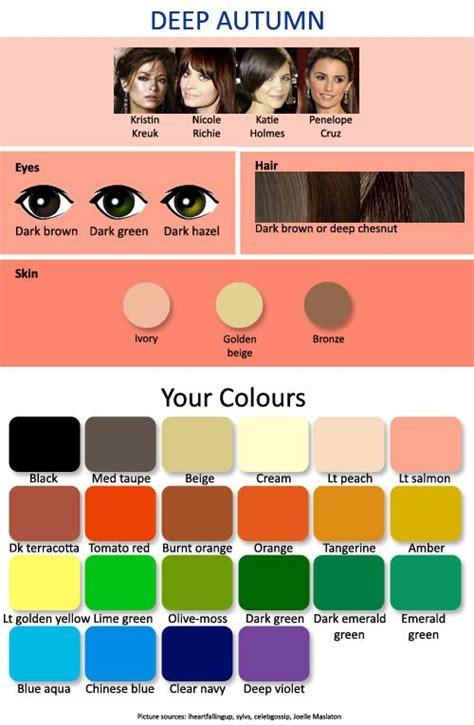 deep autumn color palette 1000 ideas about deep autumn on pinterest dark autumn