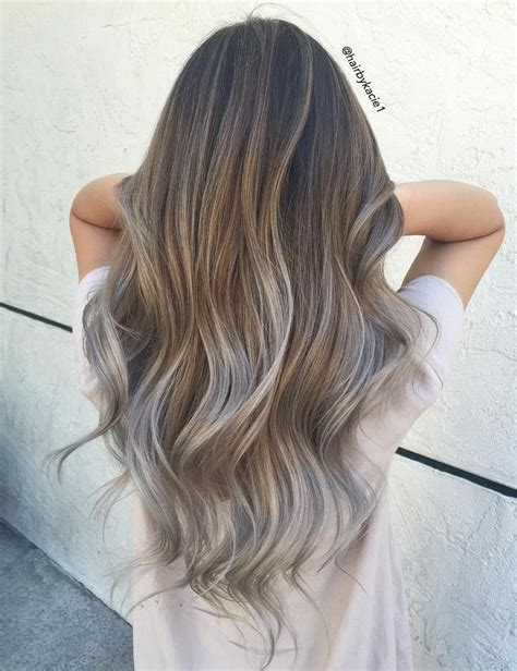 putting silver on brown hair best 25 hair trends ideas on pinterest