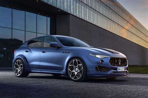 maserati novitec tuner novitec adds visual mechanical muscle to maserati s