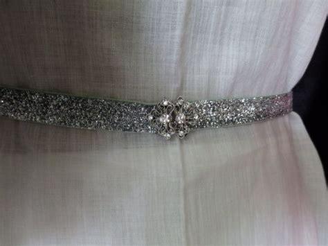 prom belts glitter belts belts silver stretch