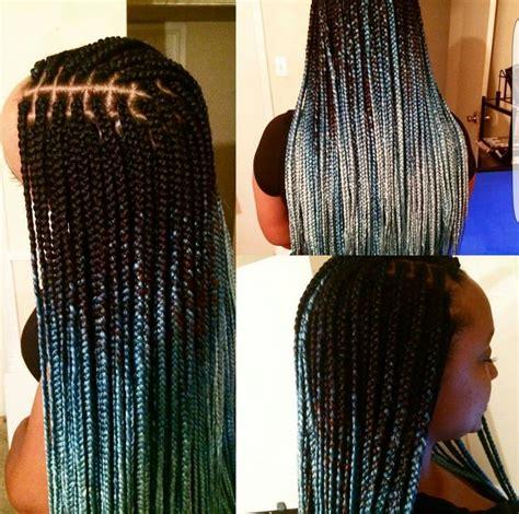 braid ombre technique 4497 best images about braids twist on pinterest