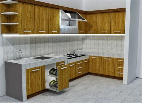 Lemari Dapur Komplit hauptundneben gambar desain dapur minimalis kecil terbaru