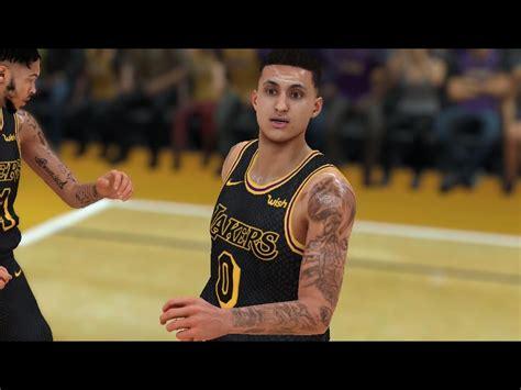dna of basketball dnaobb nba 2k18 kyle kuzma s tattoos kyle kuzma hair update with tattoos nba 2k18