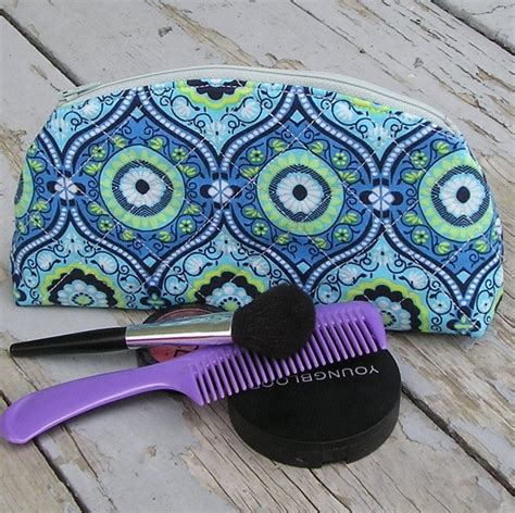 sewing pattern zipper case zippered cosmetic case by quiltfinger sewing pattern