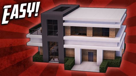 minecraft small modern house minecraft how to build a small modern house tutorial 18
