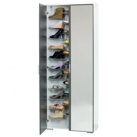 shoe storage ireland shoe cabinet with mirror front for a chic floor design