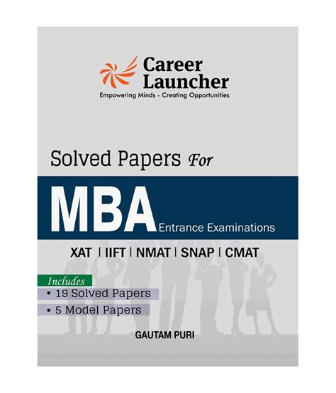 Mrp Form In Mba by Mba Solved Papers Xat Iift Snap Nmat Cmat Includes 19