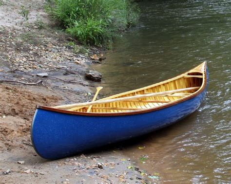 Handmade Canoes - 15 custom wood canvas canoe built to order