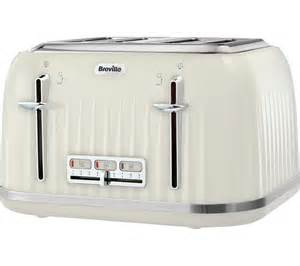 Cream Toasters Buy Breville Impressions Vtt702 4 Slice Toaster Vanilla