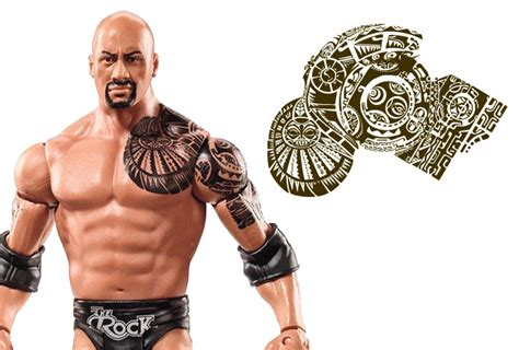 100 the rock tattoos dwayne johnson the rock tattoo