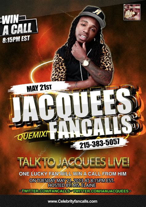 The Osiris Numbers win a call from jacquees fancalls
