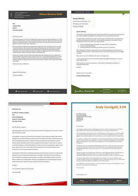 Contoh Application Letter Dan Cv Nya Surat Lamaran Kerja Contoh Application Letter Kreatif Bonus Pembelian