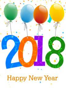 Kalender 2018 New Year New Year S Cards 2018 Happy New Year S Greetings 2018