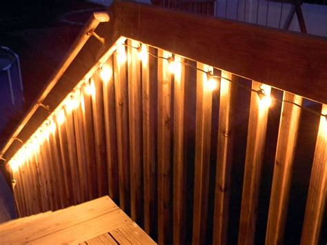 easy cheap deck lighting jos 233 e belleau alexius patios