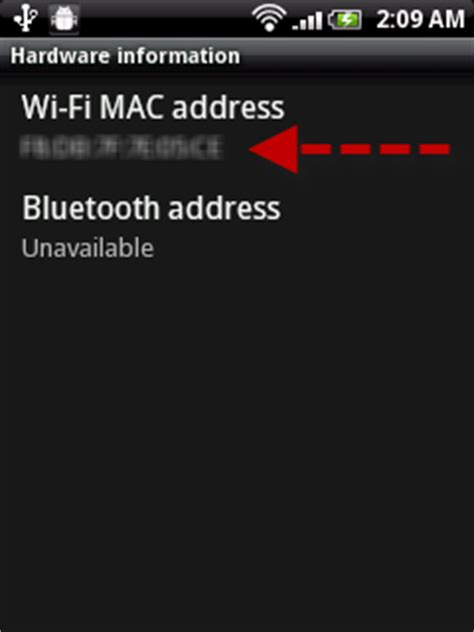 android mac address android get mac address when wifi is