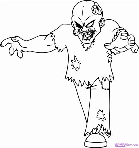 zombie coloring pages pdf 11 pics of easy zombie coloring page zombie spongebob