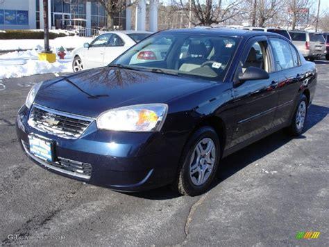 chevy malibu ls 2007 2007 blue metallic chevrolet malibu ls sedan